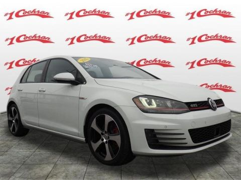 Certified Pre-Owned 2015 Volkswagen Golf GTI 2.0T S FWD 4D Hatchback