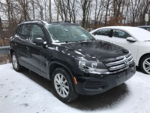 Certified Pre-Owned 2015 Volkswagen Tiguan SE AWD