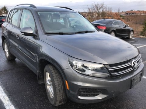 Certified Pre-Owned 2015 Volkswagen Tiguan S AWD